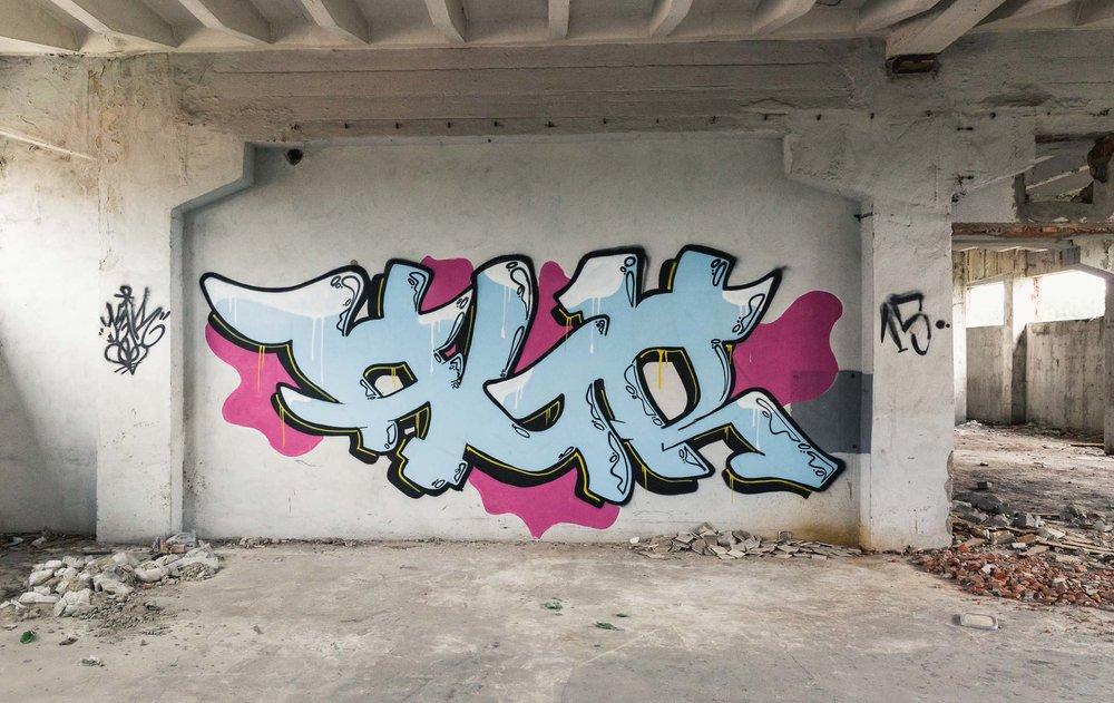amazing graffiti Poland