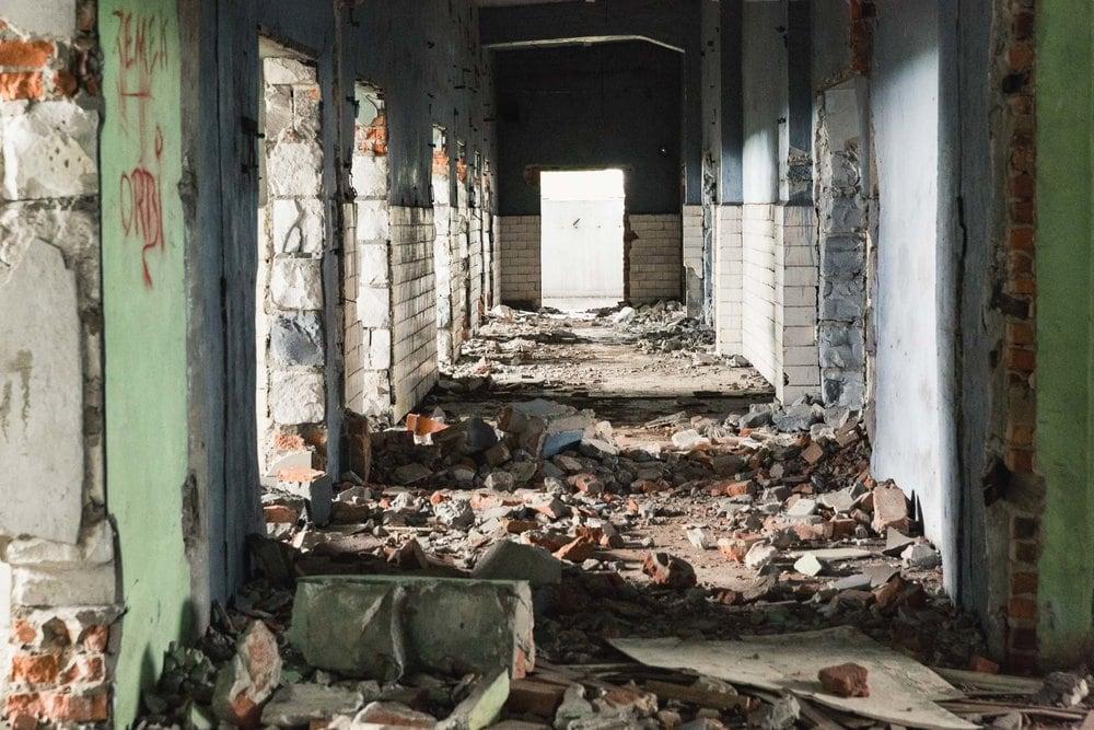 abandoned communist factory