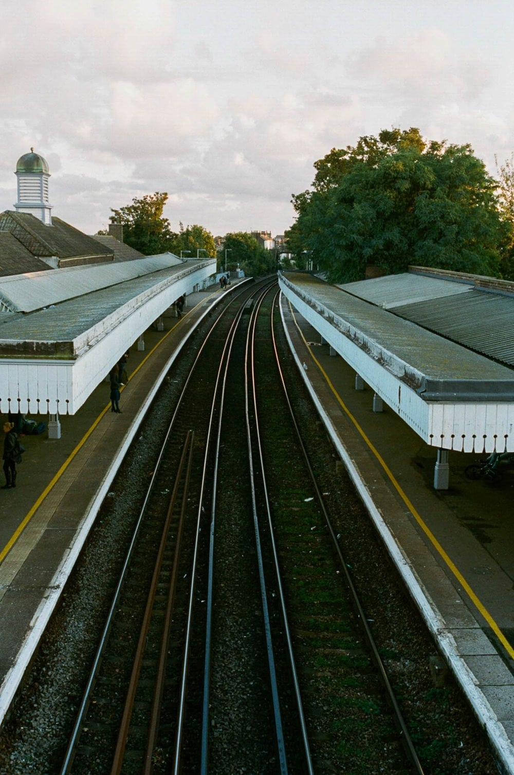 Broadstairs Train Station at Sunset Film Photography