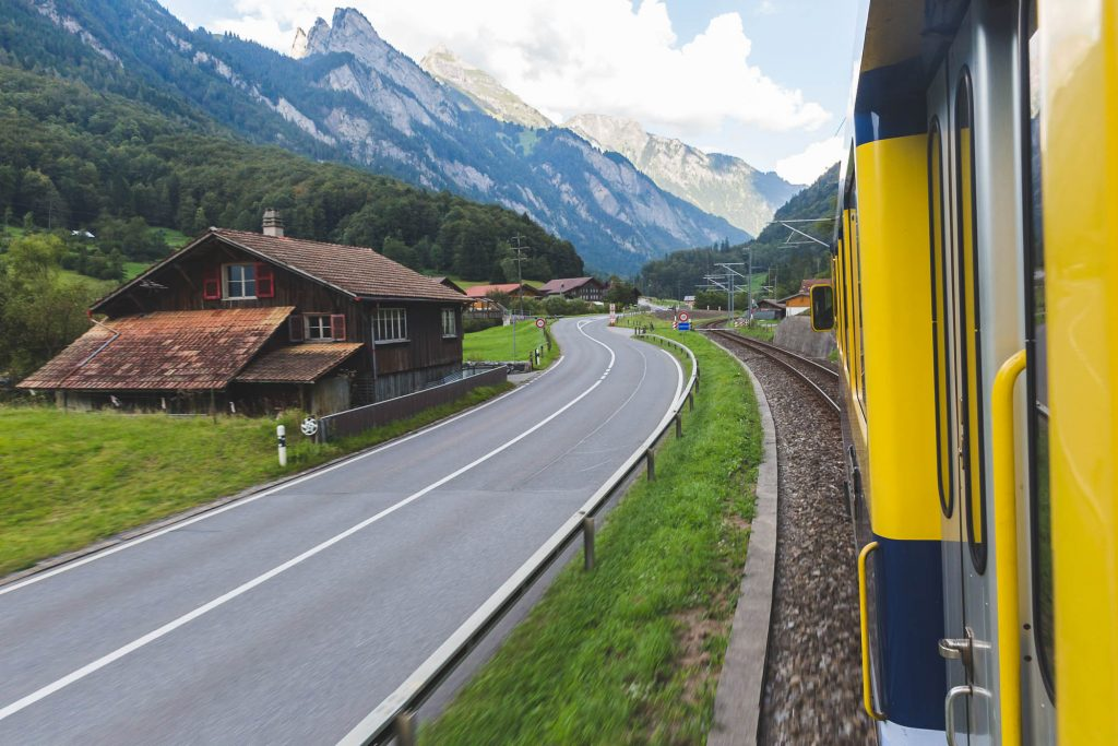 train to grindelwald